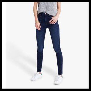 """Madewell 9"""" High Rise Skinny Skinny Jeans"""